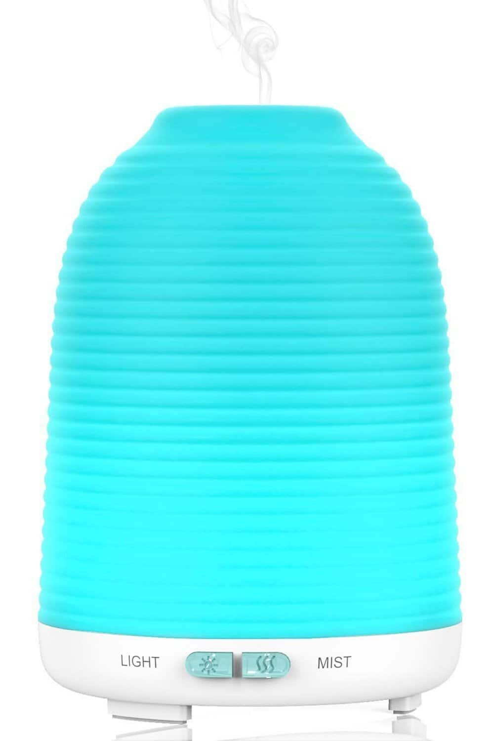 Aromatherapy Essential Oil Diffuser & Cool Mist Humidifier with Color Changing LED $7.99 w/ Possible FS @ Amazon