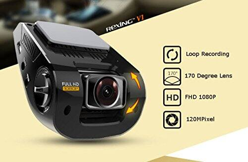 Rexing V1 Dash Cam Camera $74.98 w free shipping @Amazon