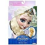 Elsa tiara and braid $3.99 amazon  add on