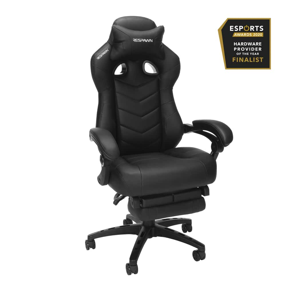 RESPAWN 110 Pro Gaming Chair in Black (RSP-110V2-BLK) - - $159.99