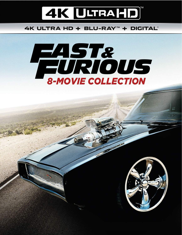 Fast & Furious 8-Movie Collection [4K Ultra HD + Blu-ray + Digital] $54.99 @ Amazon