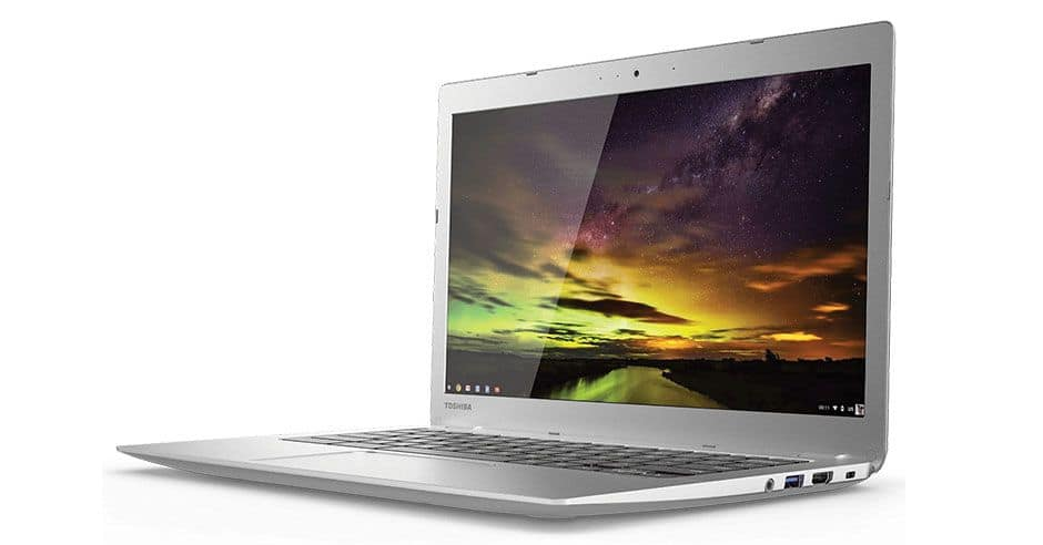 "Toshiba 13.3"" Chromebook 2 (Refurbished) $160"