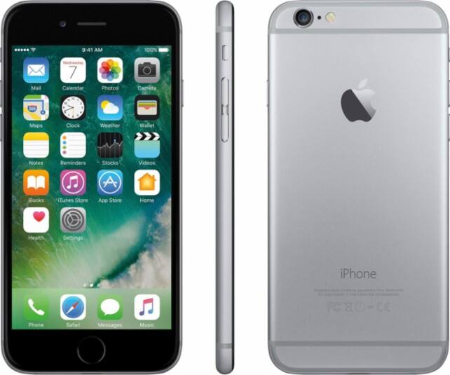 Apple iPhone 6 32GB (Total Wireless) Space Gray  $200 + Free In-Store Pickup