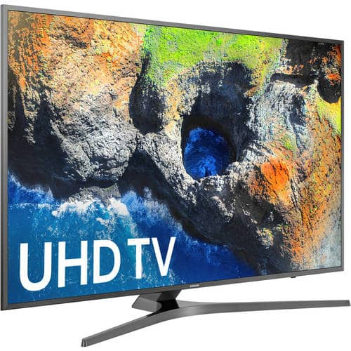 Samsung 55 in. Class LED 2160p 60Hz Internet Enabled Smart 4K Ultra HDTV with Built-In Wi-Fi $549.99