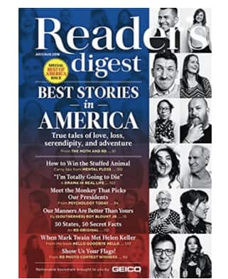1-yr Reader's Digest subscription with $20 Amazon GC for $8 at Amazon