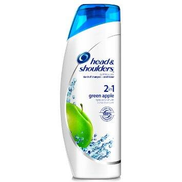 2 Pack Of Head & Shoulders Green Apple 2-in-1 Dandruff Shampoo + Conditioner $2.44 @ Amazon