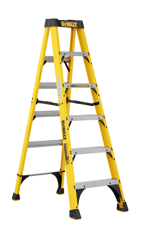 DeWalt 6' Fiberglass Step-ladder - Home Depot B&M - $32 - YMMV