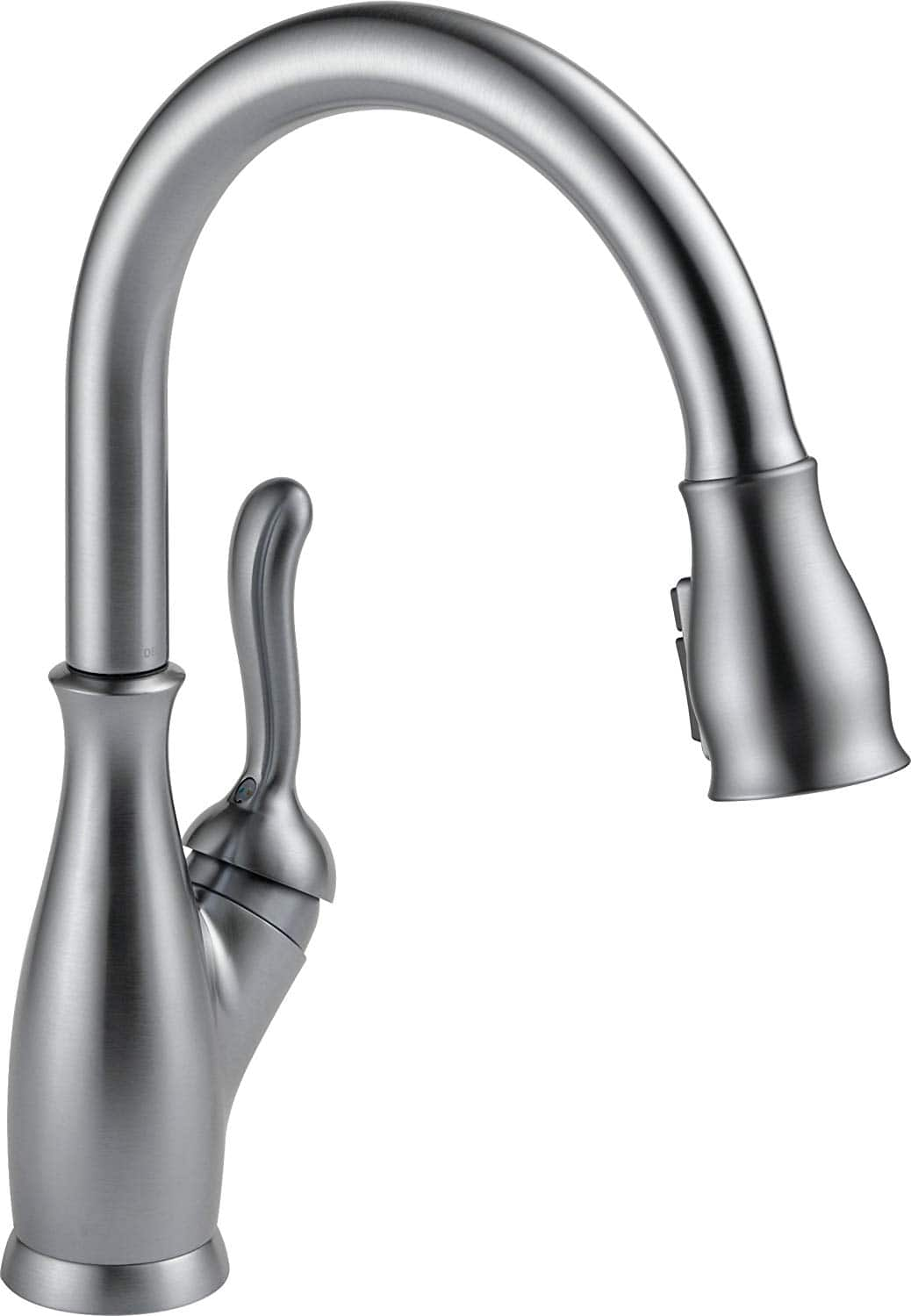 Delta Faucet Leland Single Handle Kitchen Sink Faucet With Pull Down