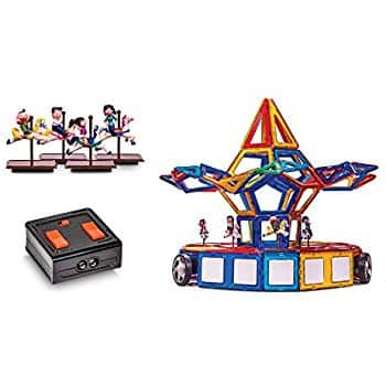 Magnastad Carousel Set + Remote Control [Magformers Compatible] $98.95 @ Amazon + FS