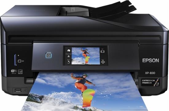 Epson - Expression Premium XP-830 All-In-One Printer - Black $74.99 @BestBuy +FS
