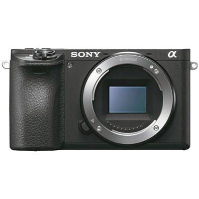 Sony ILCE-6500 a6500 4K Mirrorless Camera Body w/ APS-C Sensor (Black) - OPEN BOX + Free Shipping $1000