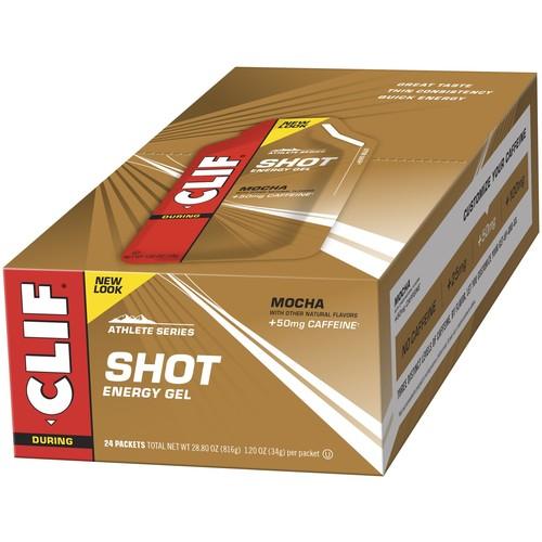 CLIF SHOT - Energy Gel - Mocha flavor - With Caffeine, 24ct @ $18 ($0.75/ea), Amazon