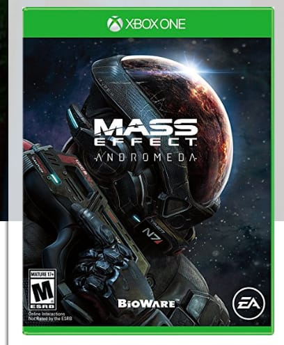 Mass Effect Andromeda Xbox One $14.92 @ Amazon