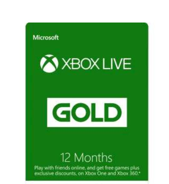 Xbox live 12 month $39.99 on Xbox store