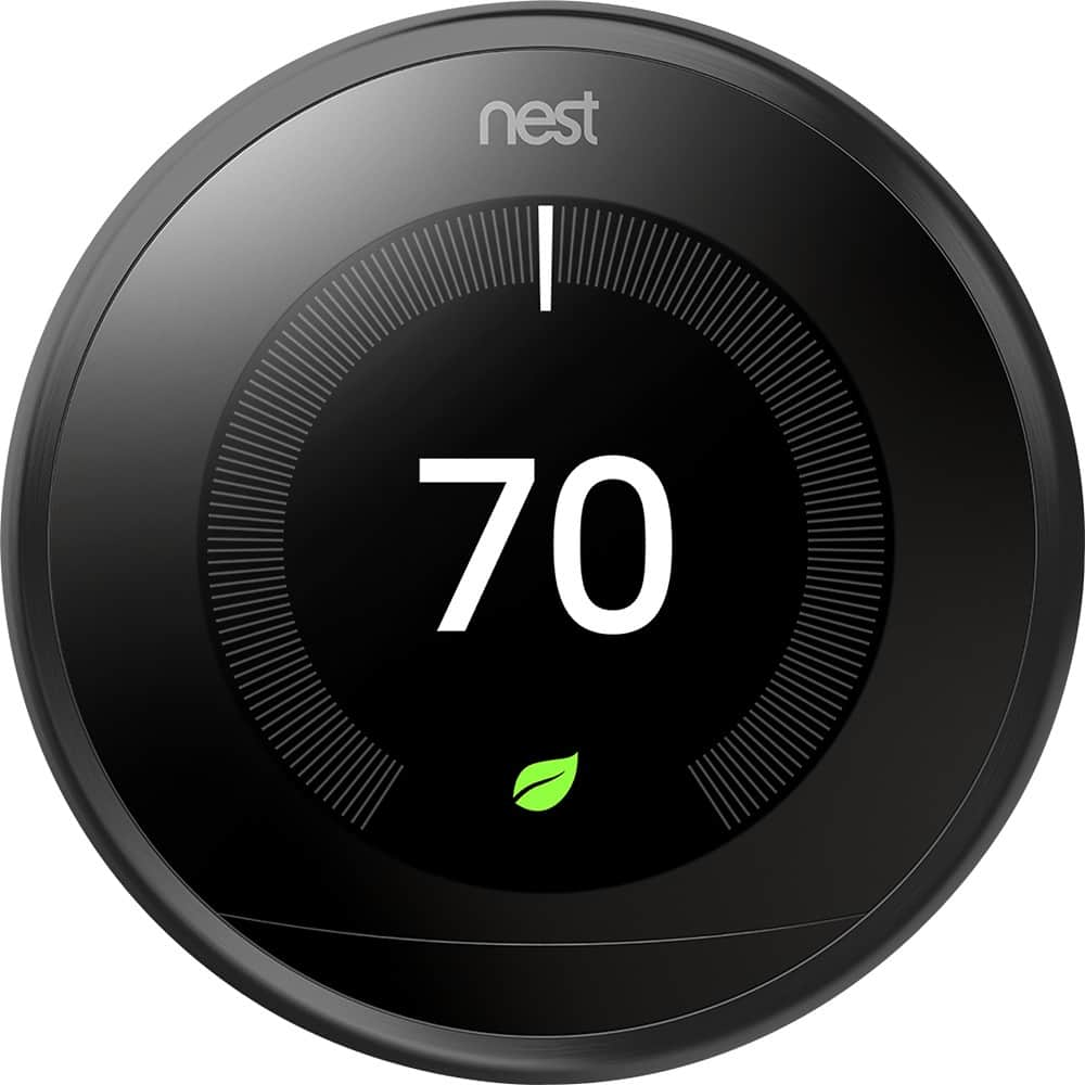 nest learning thermostat 3rd generation 175. Black Bedroom Furniture Sets. Home Design Ideas