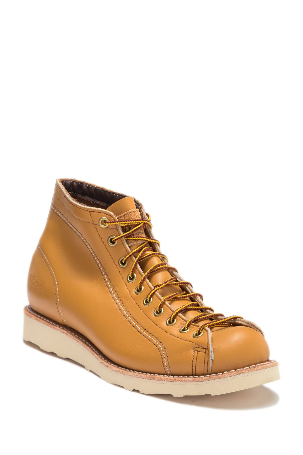 b7a76c310c4 Thorogood Roofer 1892 Portage Leather Boot - Mustard - $99.99 ...