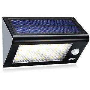 Amir Solar Powered Motion Waterproof Sensor Light with 3 Modes - $16.99 + Prime