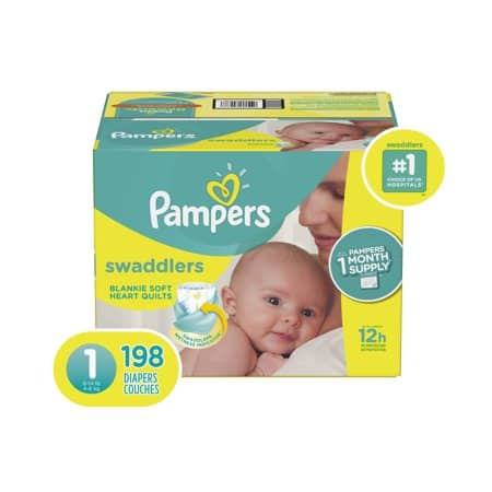 Pampers Swaddlers Diapers (Seize: Premie to 7 ): Buy 2, Get $20 Gift Card + FS