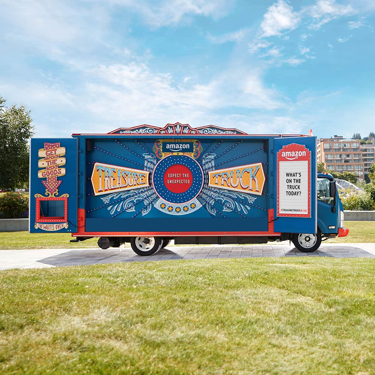 Amazon Treasure Truck: Coupon for Additional Savings $10 Off (Select Cities)