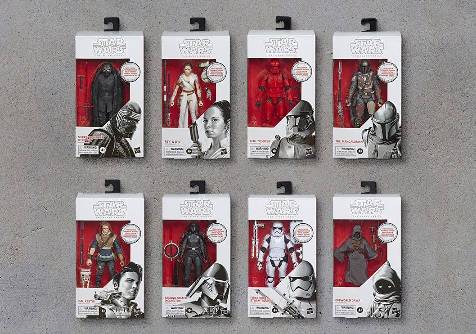 Hasbro First Edition Star Wars The Black Series 6-Inch Figures – 8-Pack on Amazon Treasure Truck YMMV $159.99