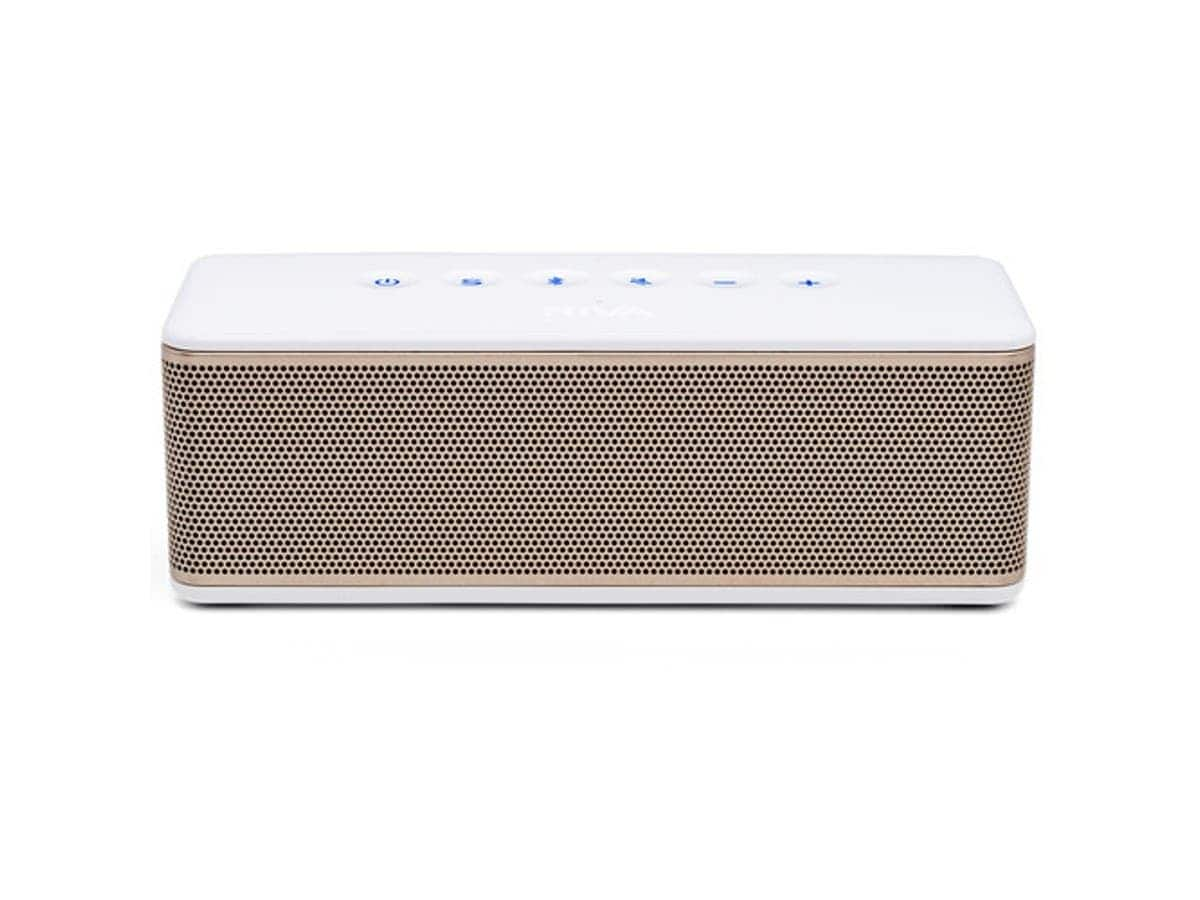 RIVA Audio S Bluetooth Wireless Speaker - White/Silver - RS01S (refurbished) $55