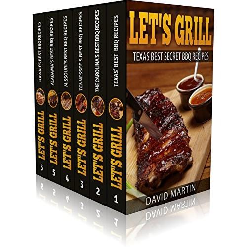 EXPIRED! Let's Grill! Best BBQ Recipes Box Set: Best BBQ Recipes from Texas (vol.1) Carolinas (Vol. 2) Missouri (Vol. 3) TN (Vol. 4) AL (Vol. 5) Hawaii (Vol. 6) Kindle Edition