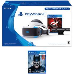 PSVR GT Bundle w/ Batman VR $219, w/o Batman VR $199
