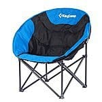 KingCamp™ 260LBS, 14 Inches Seat Height, Lightweight Steel Folding, Moon Leisure Camping Chair $48.28 + ship @amazon.com