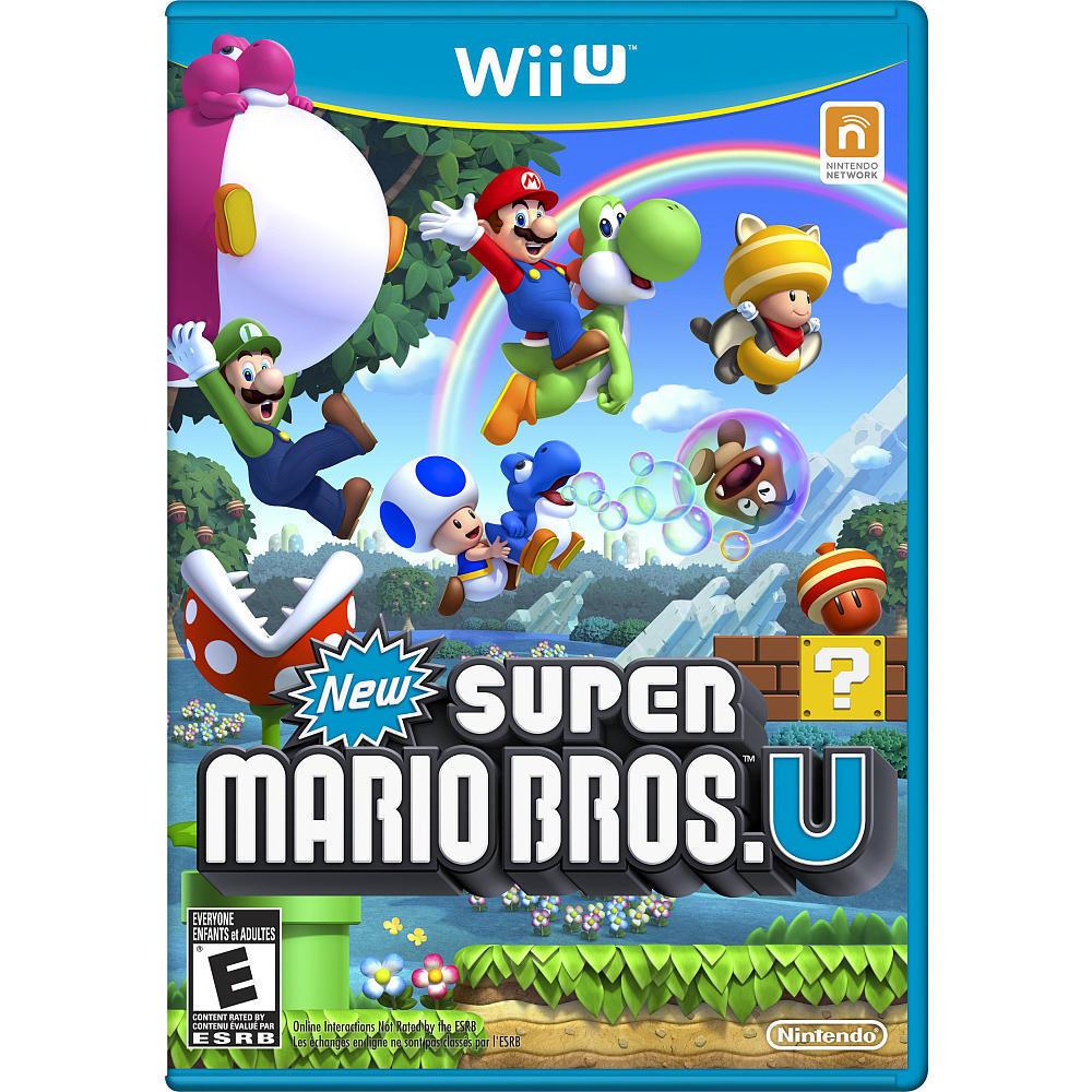 Super Mario Brothers U Wii U $23