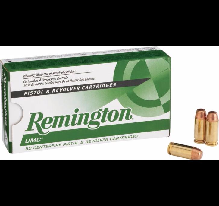Remington UMC® Pistol Ammunition, 9 mm 115 Grain FMJ $11.99, rebate $2.5