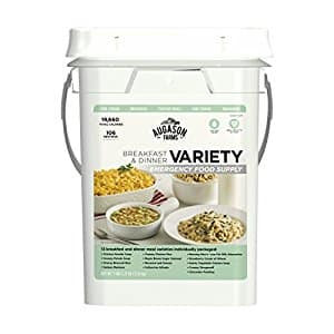 Augason Farms Variety Breakfast & Dinner Emergency Food Supply $39.39 + Free S/H