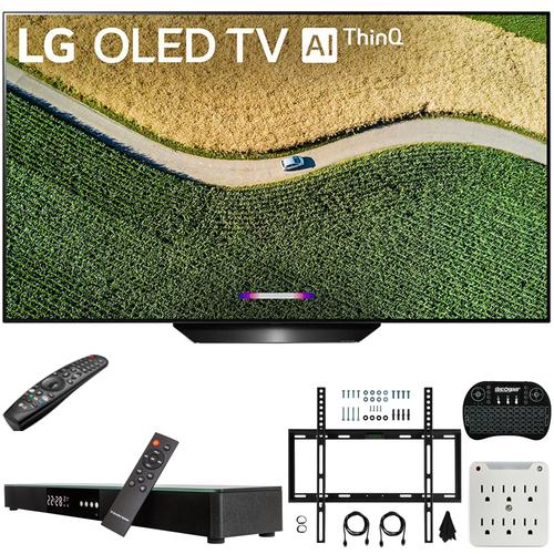 LG OLED55B9PUA B9 55 inch 4K HDR Smart OLED TV w/ AI ThinQ (2019) + Soundbar Bundle $1296.99+ FS @ Buydig
