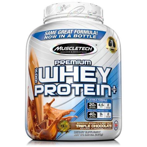MuscleTech Premium 100% Whey Protein (5lb) $27.98 (Sam's Club)