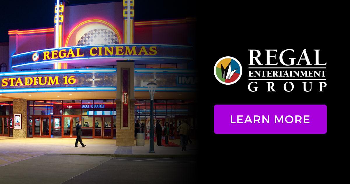 Regal Crown Club Members - See 4, Own 4 + Free Popcorn