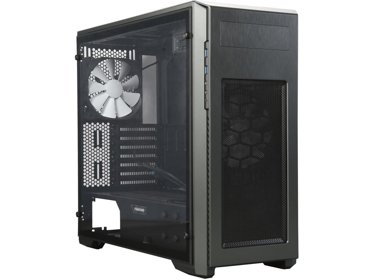 Phanteks ENTHOO Pro M Acrylic Mid Tower Case (Titanium Green) - $49.99 AR