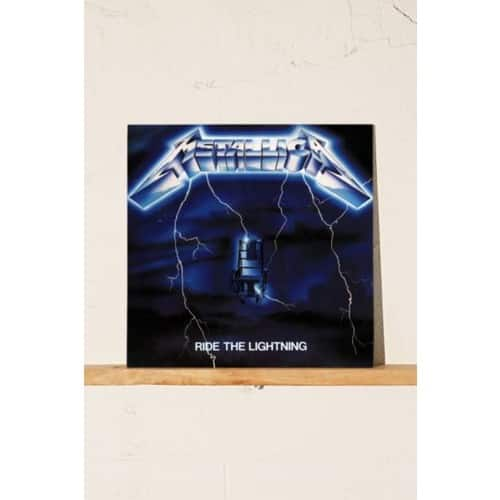 Metallica - Ride the Lightning $9.48 vinyl at Amazon