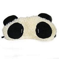 Mini In The Box Deal: Plush Panda Pattern Eyeshade for sleeping .89 cents! from Mini
