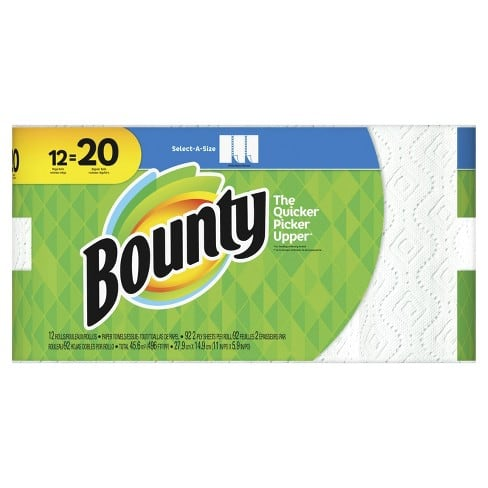Fabulous Target Bounty Deal, 120 rolls + $50 Target Gift Card for