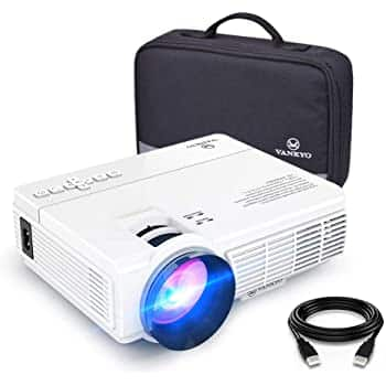 "Vankyo Leisure 470 LED Projector + 120"" foldable screen $115 + tax on Amazon (normally $190)"