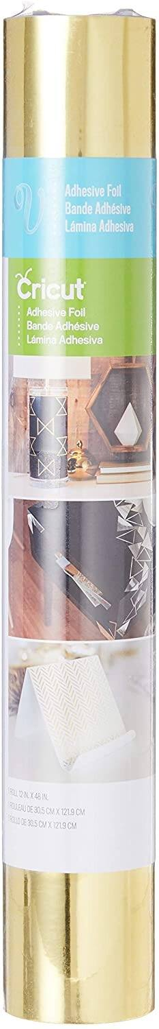 "Cricut  12 x 19"" Glitter Iron On (Gold or Silver) 12''x 48'' $6, Metallic (Gold) or Holographic Sparkle Dark Blue $5.74 + FS w/ Prime or Free Curbside Pickup at Joann"