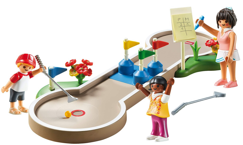 Playmobil 46-Piece Mini Golf Playset $10 + FS w/ Prime or Walmart+