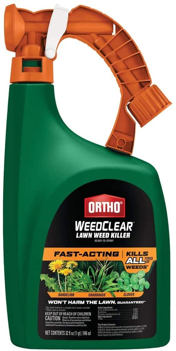 Ortho WeedClear or Weed B Gon Crabgrass & Weed Killer (32-oz Concentrate or 1-Gal Ready To Use) $7 or Less w/ Slickdeals Cashback (PC Req'd) at Ace Hardware + Free Curbside Pickup