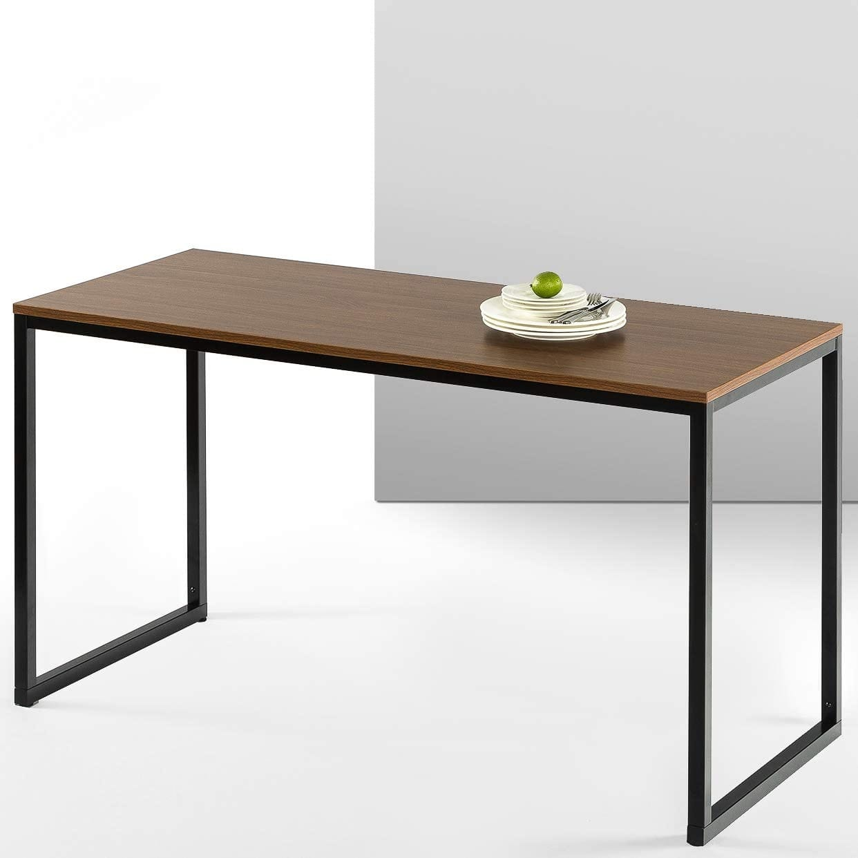 "ZINUS 55"" Jennifer Desk (Brown) $52.80 + Free S/H"
