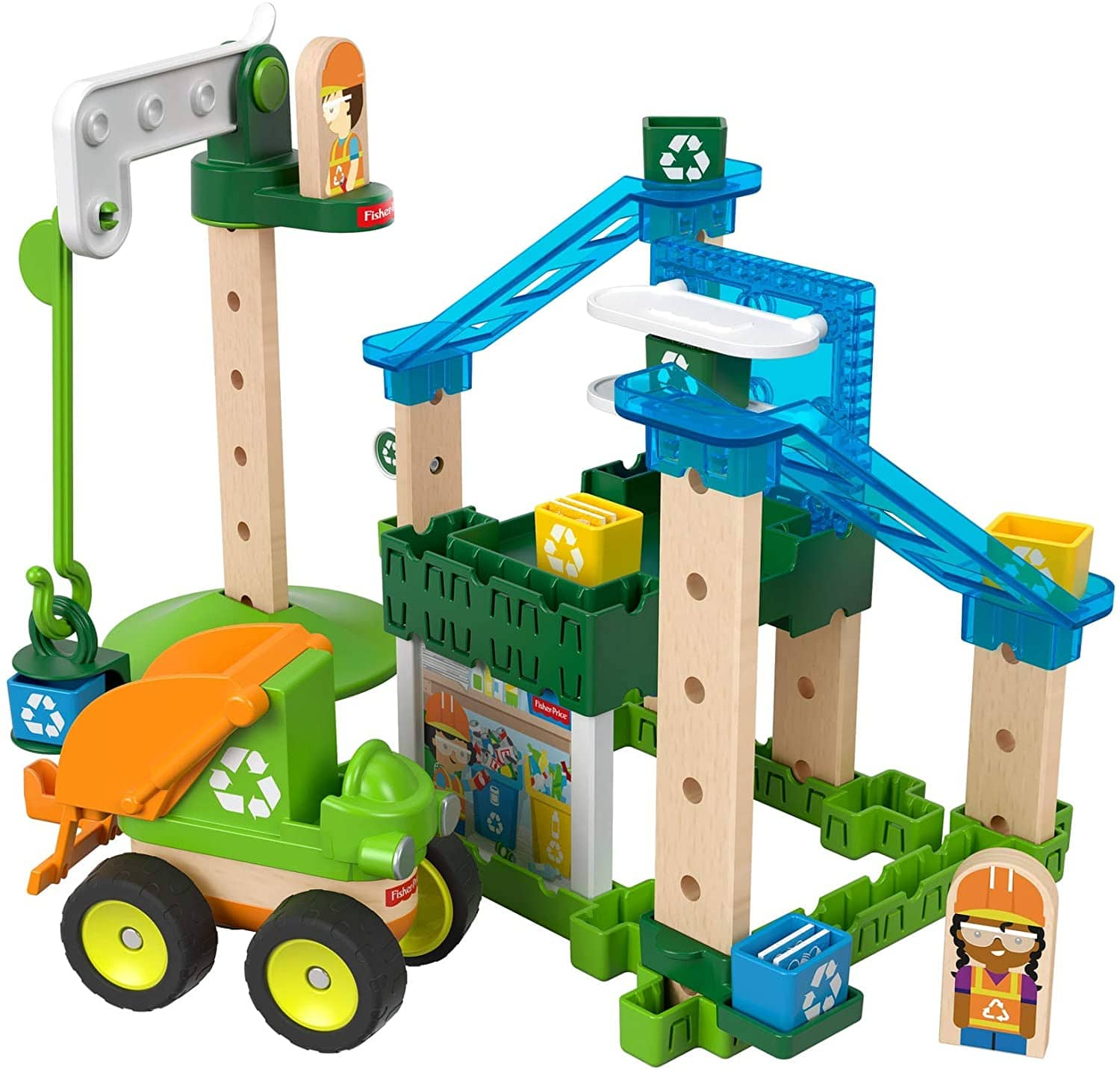 Fisher-Price 35-Pc Wonder Makers Design System Sets: Special Delivery Depot $6.46 + FS w/ Prime or on orders $25+