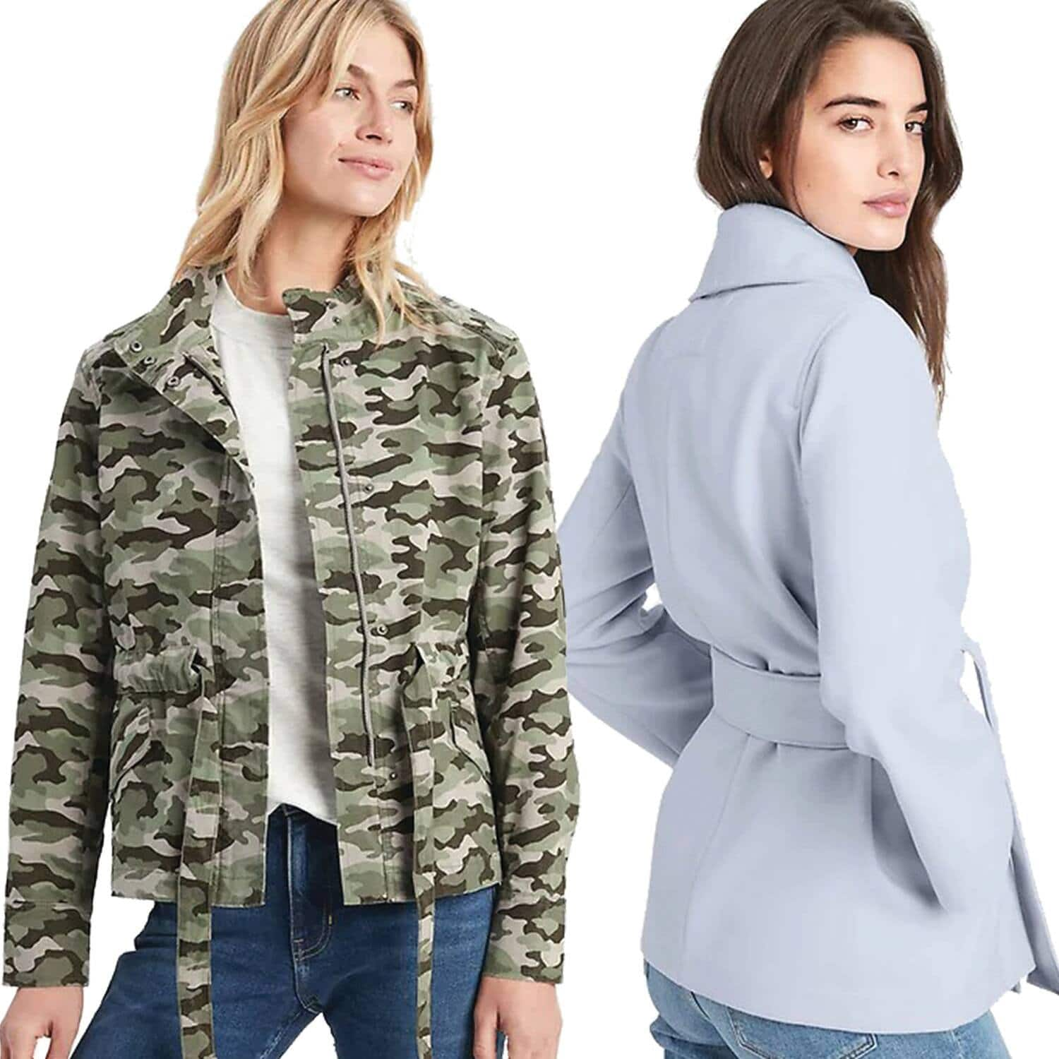 Women's Banana Republic Factory Tie-Waist Utility Jacket $21 Shipped, High-Rise Dot Ankle Pant $12.49 & More + FS from $25+