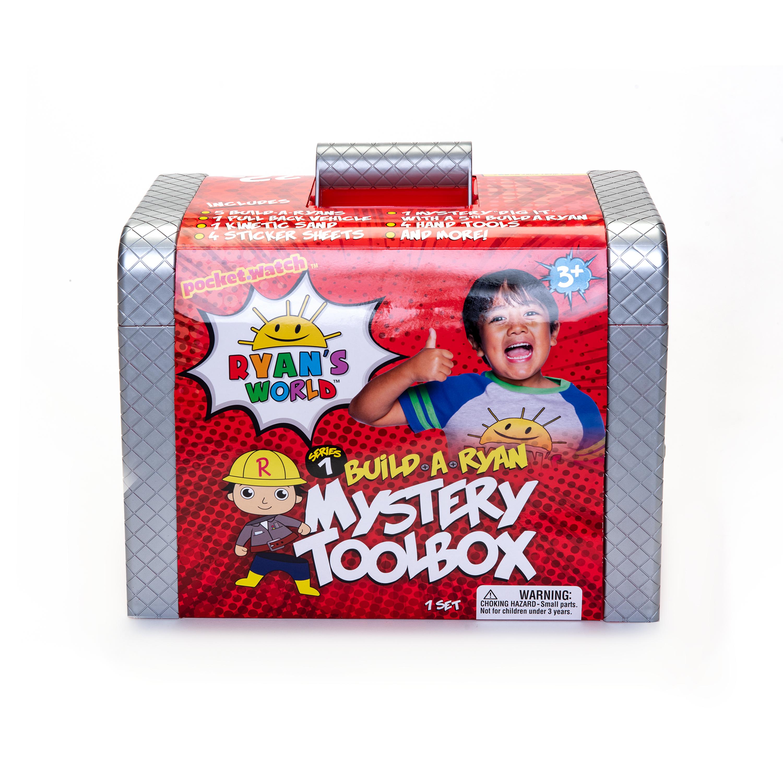 Ryan's World Build-a-Ryan Mystery Toolbox $20 + FS w/ Walmart+ or on orders $35+