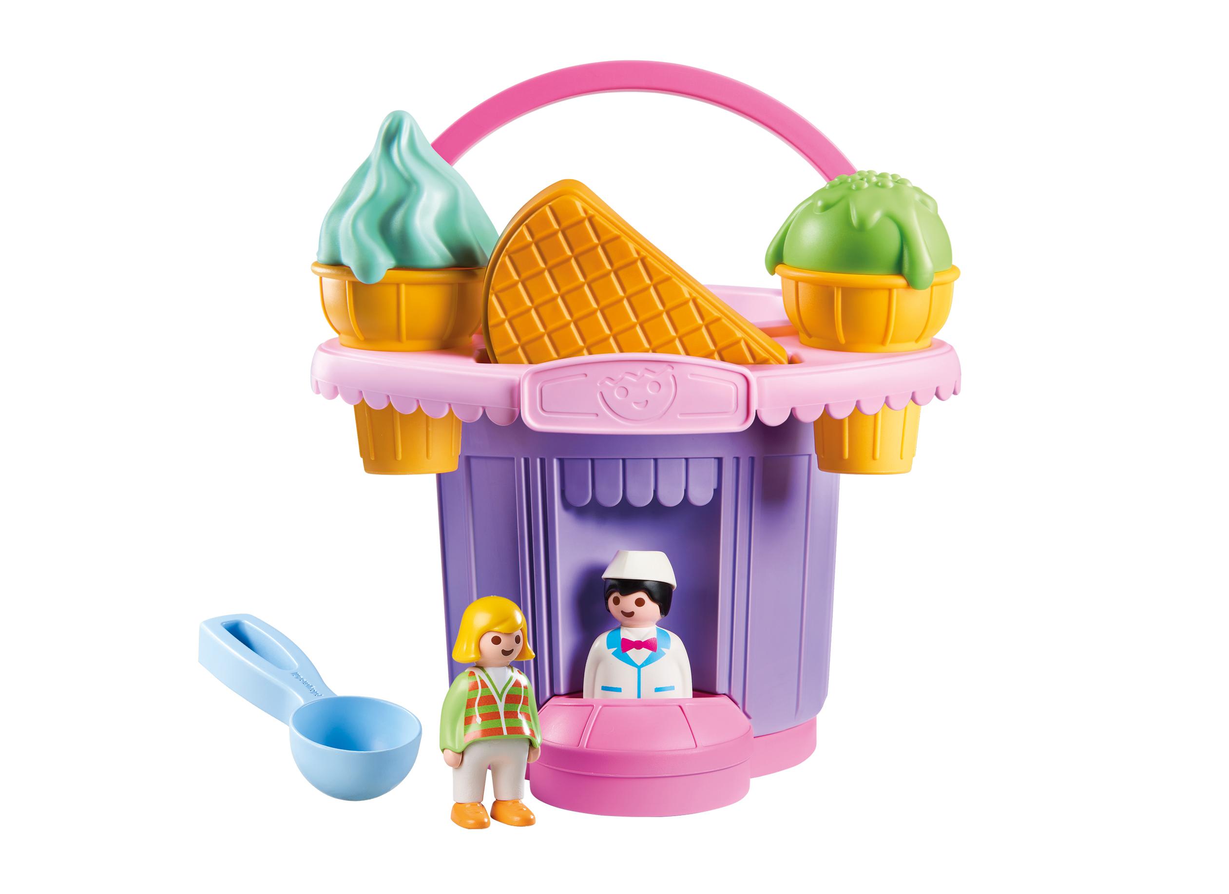 PLAYMOBIL Ice Cream Shop Sand Bucket $6.58 + FS w/ Walmart+ or on orders $35+