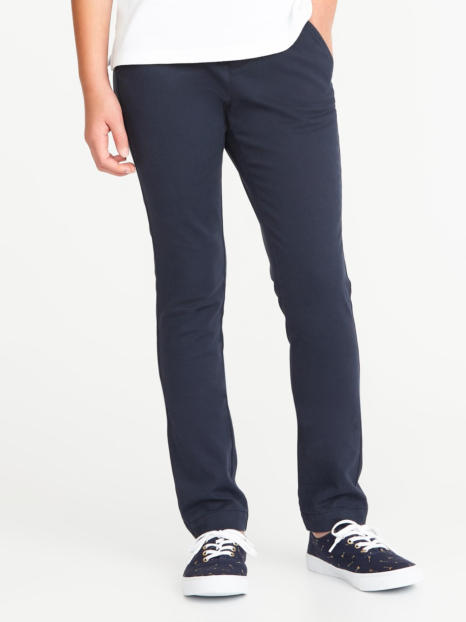 Old Navy Boys' Go-Dry Track Pants, Girls' Uniform Pants & Ponte-Knit Jeggings: Mix/Match 5 for $30 AFTER $20 Super Cash Redemption + FS