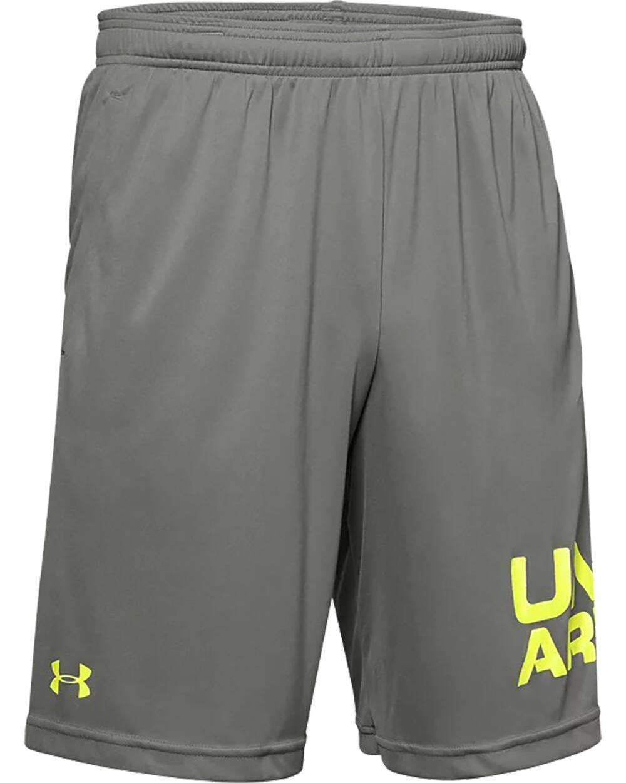 Under Armour Men's UA Tech Wordmark Shorts (Gravity Green) $12.99 or Less + FS