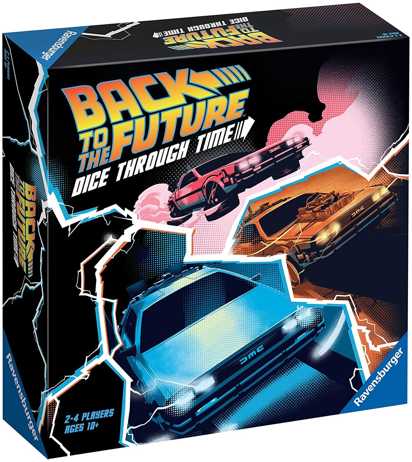Back to the Future: Dice Through Time Board Game $15 + Free Curbside Pickup at Target / FS w/ Prime